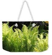 Spring Fern Fronds Weekender Tote Bag