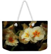 Spring Floral Weekender Tote Bag by David Lane
