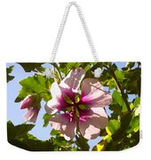Spring Flower Peeking Out Weekender Tote Bag