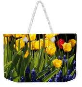 Spring Flowers Square Weekender Tote Bag
