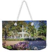 Spring Fountain Weekender Tote Bag