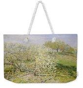 Spring. Fruit Trees In Bloom Weekender Tote Bag