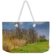 Spring Grass Weekender Tote Bag