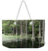 Spring Green In Cypress Swamp Weekender Tote Bag
