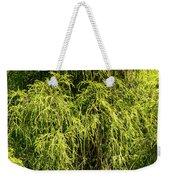 Spring Greens Weekender Tote Bag