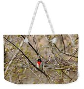 Spring Grosbeak Weekender Tote Bag