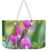 Spring Hearts - Flowers Weekender Tote Bag