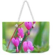 Spring Hearts - Flowers With Vignette 2 Weekender Tote Bag