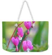 Spring Hearts - Flowers With Vignette Weekender Tote Bag