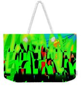 Spring In Digital Forest Weekender Tote Bag