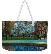 Spring In Madison Square Park Weekender Tote Bag
