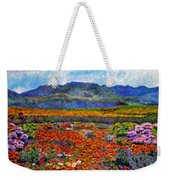 Spring In Namaqualand Weekender Tote Bag