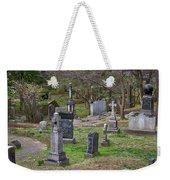 Spring In Oak Hill Cemetery #4 Weekender Tote Bag