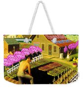Spring In Townville Weekender Tote Bag