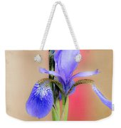 Spring Iris 2 Weekender Tote Bag