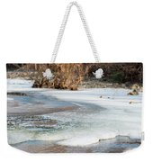 Spring Is Coming. The Ice Melts. Weekender Tote Bag