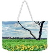Spring Jog On The Potomac Weekender Tote Bag
