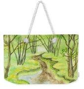 Spring Landscape, Watercolours Weekender Tote Bag