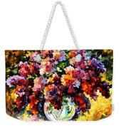 Spring Lilac Weekender Tote Bag