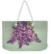 Spring Lilacs Weekender Tote Bag