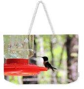 Spring Migration Hummingbird Weekender Tote Bag
