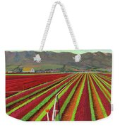 Spring Mix Lettuce Fields Weekender Tote Bag
