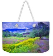 Spring Morning Along The Channel Parkway Weekender Tote Bag