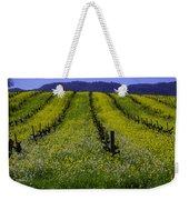 Spring Mustard Field Weekender Tote Bag
