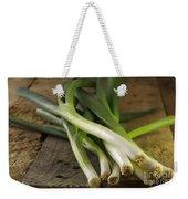 Spring Onions Weekender Tote Bag