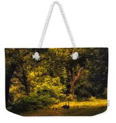 Spring Outing Weekender Tote Bag by Jessica Jenney