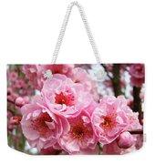 Spring Pink Tree Blossoms Art Prints Baslee Troutman Weekender Tote Bag
