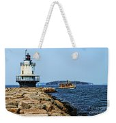 Spring Point Ladge Lighthouse - Maine Weekender Tote Bag
