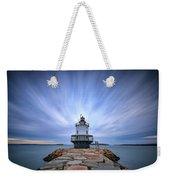 Spring Point Ledge Light Station Weekender Tote Bag