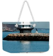 Spring Point Ledge Lighthouse Weekender Tote Bag