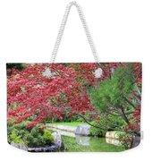 Spring Pond Reflection Weekender Tote Bag