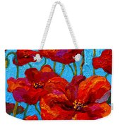 Spring Poppies Weekender Tote Bag