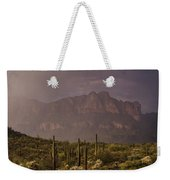 Spring Rain In The Sonoran  Weekender Tote Bag