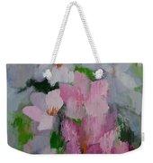 Spring Rain Oil Painting Weekender Tote Bag