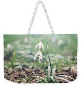 Spring Rising Weekender Tote Bag by Heather Applegate