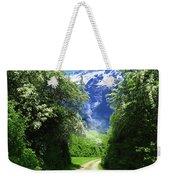 Spring Road To Mountains Weekender Tote Bag