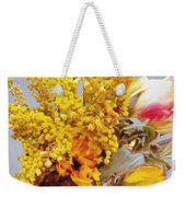 Spring Sky Bouquet Weekender Tote Bag
