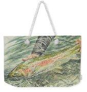 Spring Steel Weekender Tote Bag