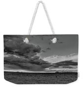 Spring Storm Front In Black And White Weekender Tote Bag