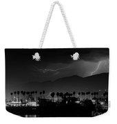 Spring Storm Santa Barbara-signed Weekender Tote Bag