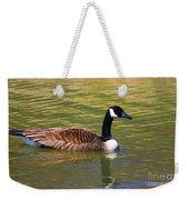 Spring Time Goose Weekender Tote Bag
