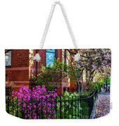 Spring Time In The City Weekender Tote Bag