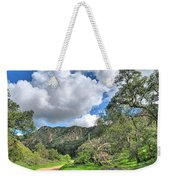Spring Trail In The Canyon Weekender Tote Bag
