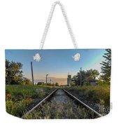 Spring Train Rails Weekender Tote Bag