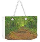 Spring Tree Tunnel Weekender Tote Bag