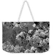 Spring Trees - B And W Weekender Tote Bag